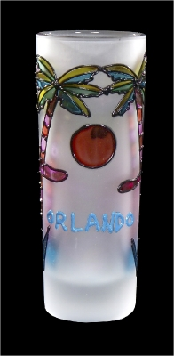 Stained Glass Shooter - Palm & Sun Design (Orlando Only)