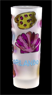 Stained Glass Shooter - Sea Shell Design (Orlando Only)