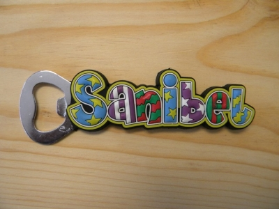 PVC Magnet Bottle Opener - Sanibel