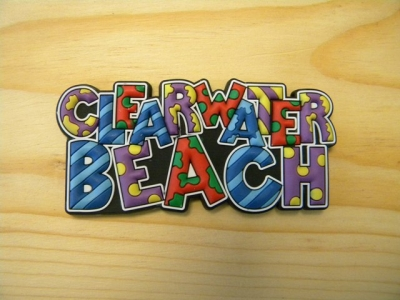 PVC Magnet - Clearwater Beach