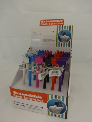 Metal Rake Back Scratcher - Assorted Colors