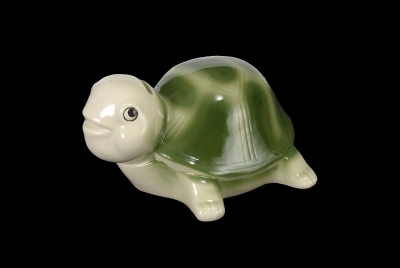 1619 - Ceramic Turtle Bank 7.5""