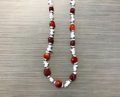 N-8246 - Multicolor Agate Fashion Necklace