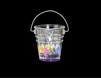1708 - Beach Bucket Shot Glass