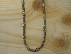 N-8364 - Bone and Hemp Fashion Necklace