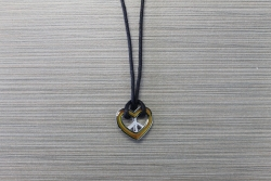N-8466 - Mood Fashion Necklace - Peace Heart
